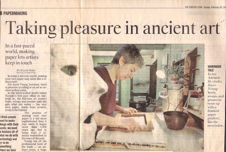 Toronto Star, February 20, 2001